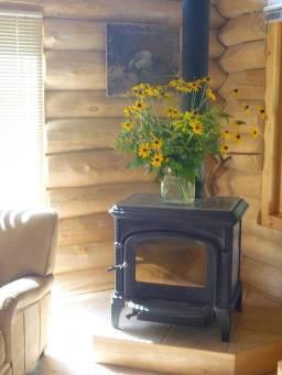 log cabin on lake 1