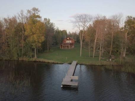 log cabin on lake 3