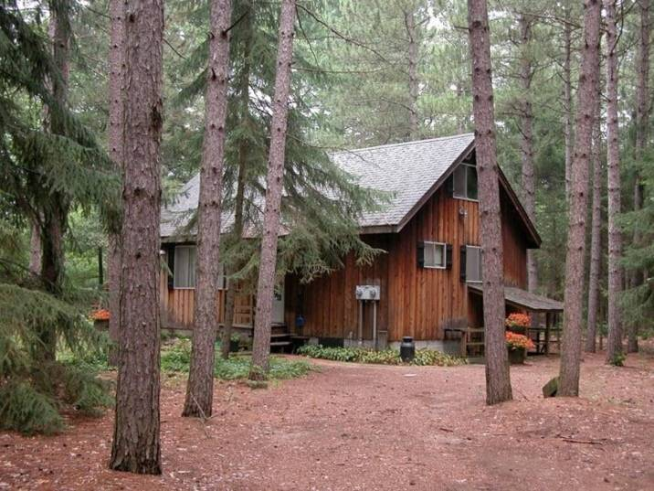 wooded cabin 1