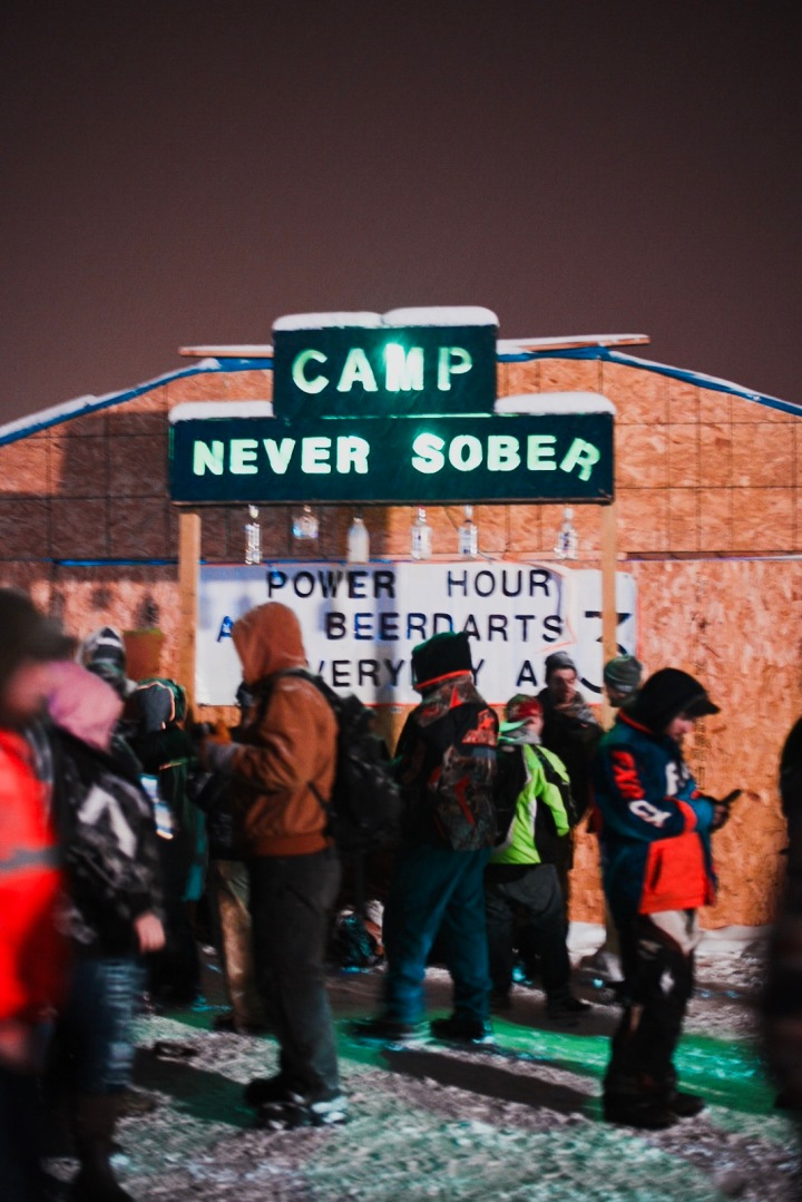 Camp Never Sober at Eelpout Festival