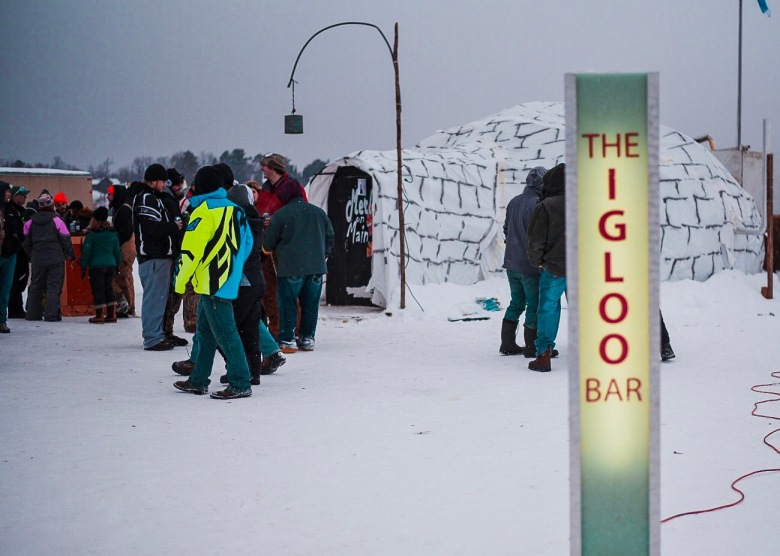 The Igloo Bar