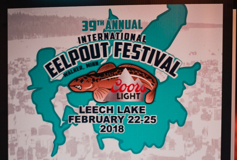 Eelpout Festival Sign
