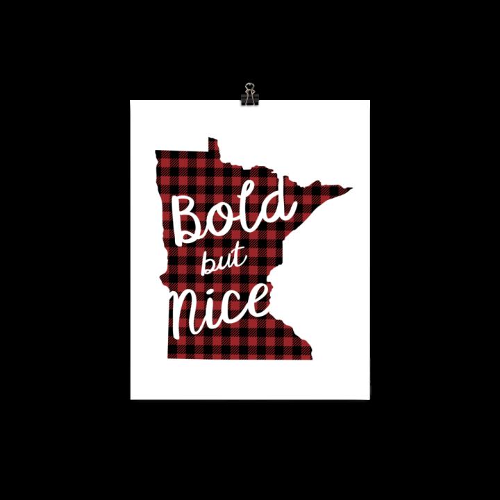 Bold But Nice Print