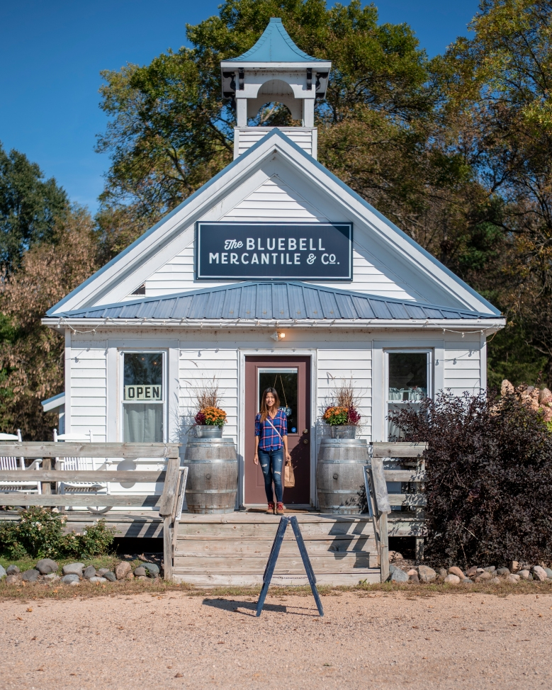 The Bluebell Mercantile & Co. and Girl of 10,000 Lakes