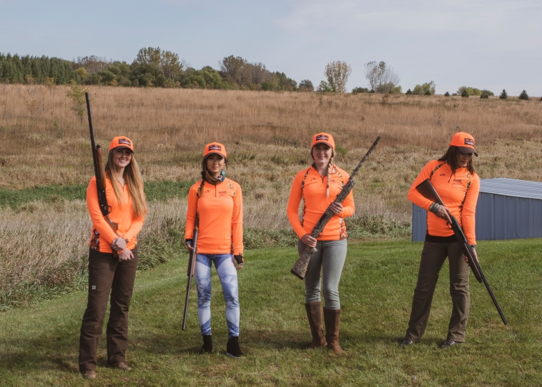 women pheasant hunters