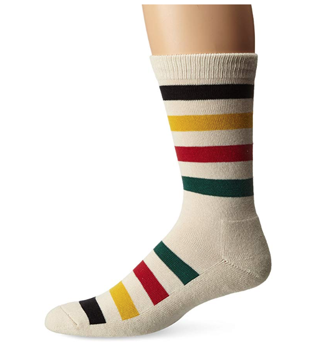 classic striped Pendleton socks