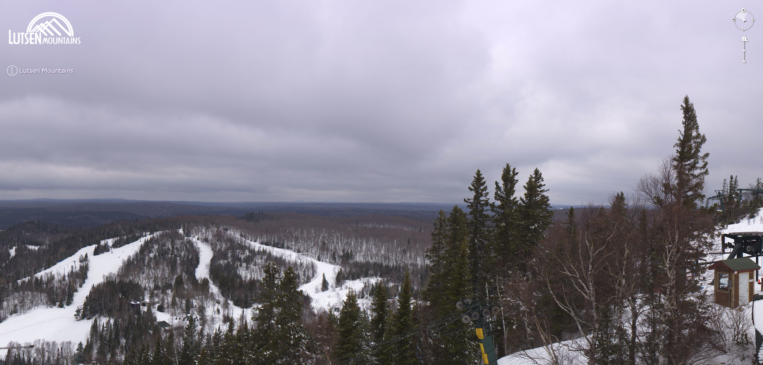 LIVE CAM VIEW OF LUTSEN MOUNTAINS
